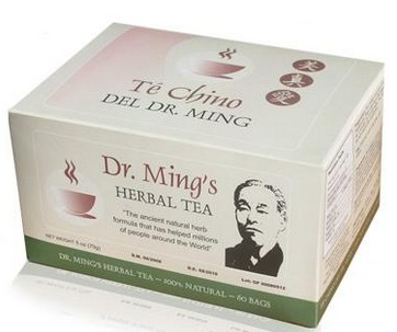 Té Chino Del Dr.Ming's Herbal Tea (30pags/60pags)