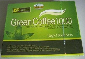 Leptin Green Coffee 1000 (10g &5g)