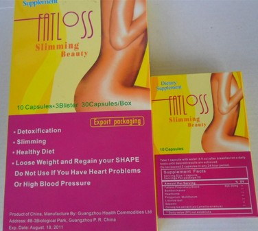 Fat Loss Slimming Beauty Capsule