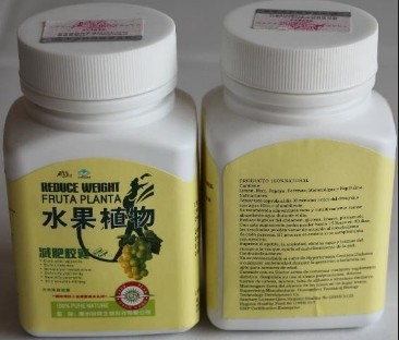 Reduce Weight Fruta Planta Capsule (Bottle one)