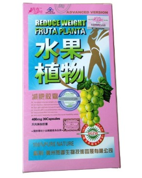 Fruta Planta Weight Loss Capsule (Pink Package)