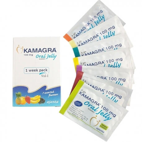 Kamagra oral jelly 7 Flavours